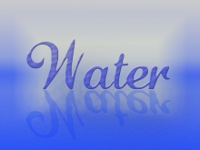 Water Text in Photoshop CS6